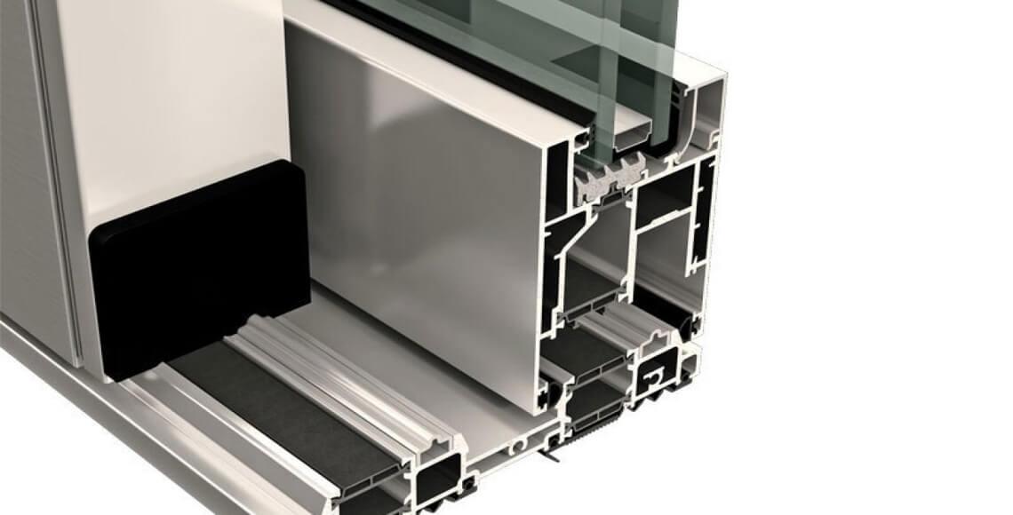 pvc alluminio taglio termico isolamento