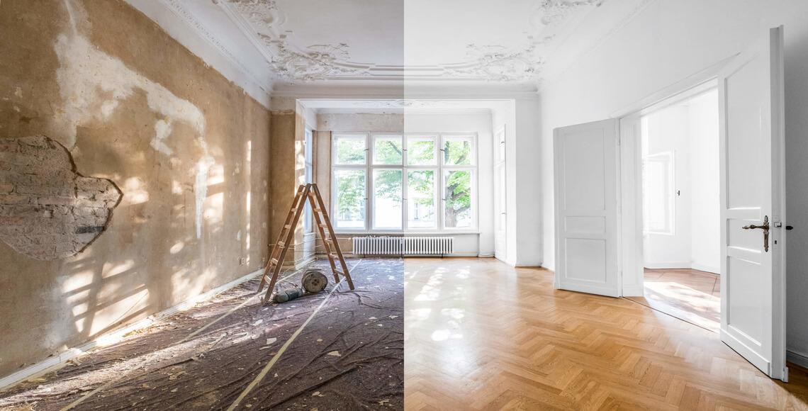 ristrutturazione casa prima dopo