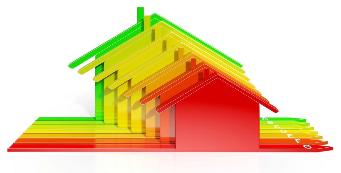 immaginarie case appartenenti a diverse zone climatiche