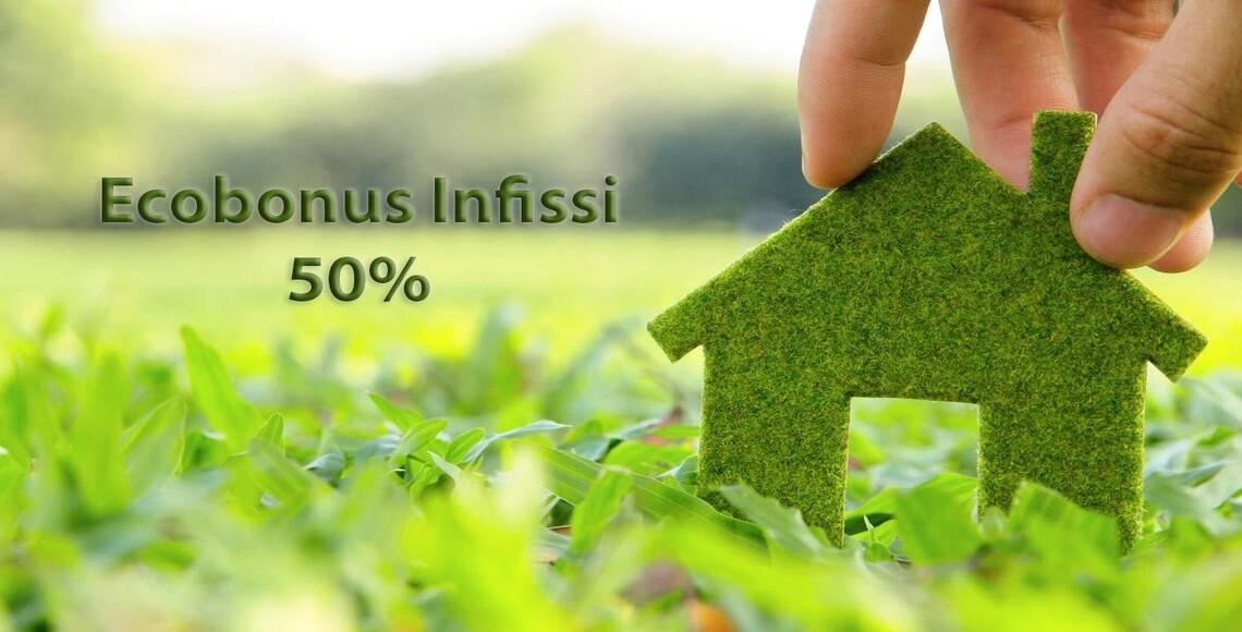 casa green con infissi nuovi ecobonus sconto in fattura 2019