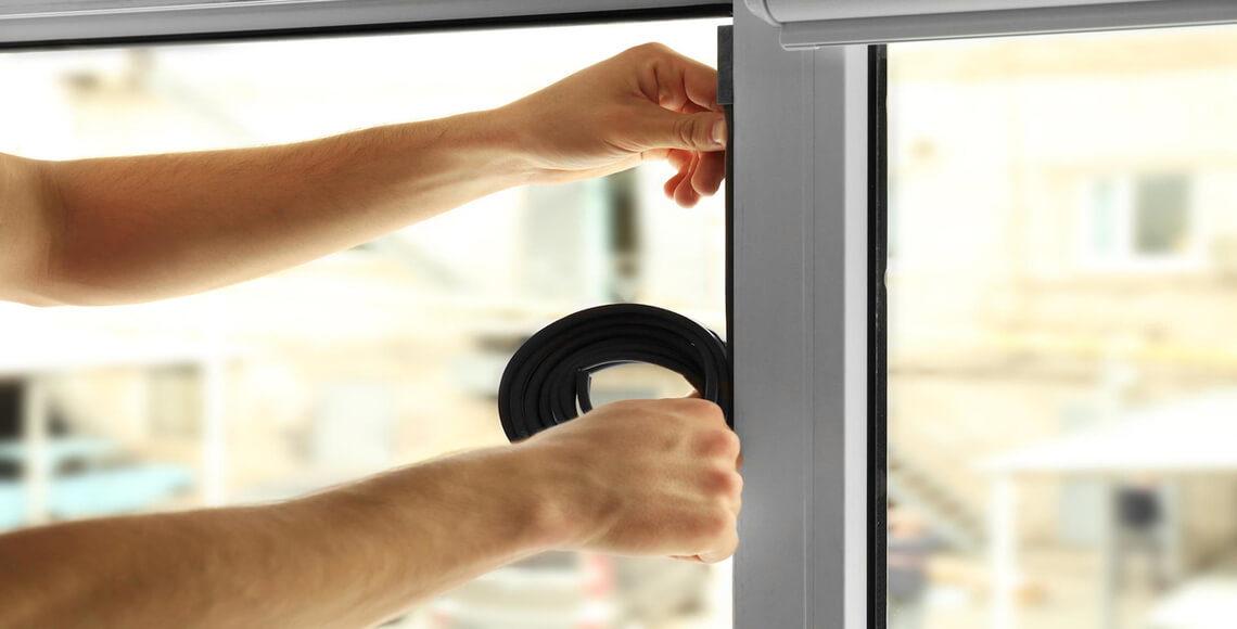 guarnizione finestre per isolare casa da spifferi