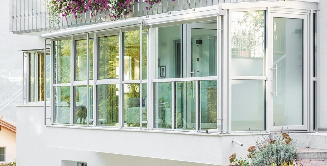 esempio di veranda balcone