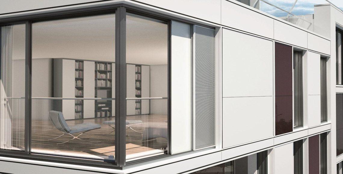 finestra alluminio infisso giunto aperto