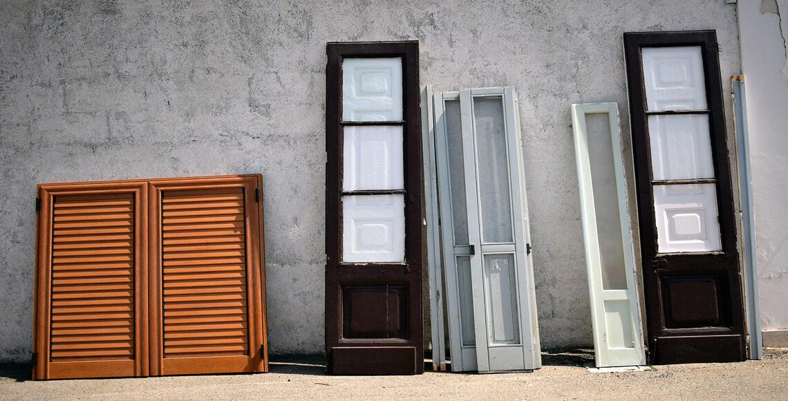 vecchi serramenti da cambiare