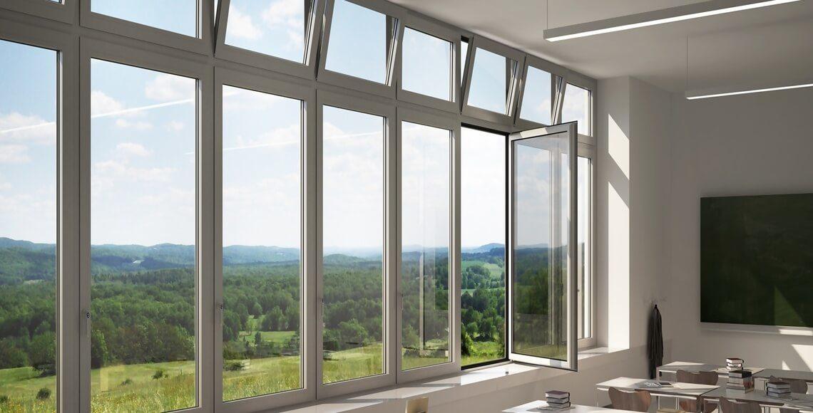 sistemi automatici apertura finestre schuco