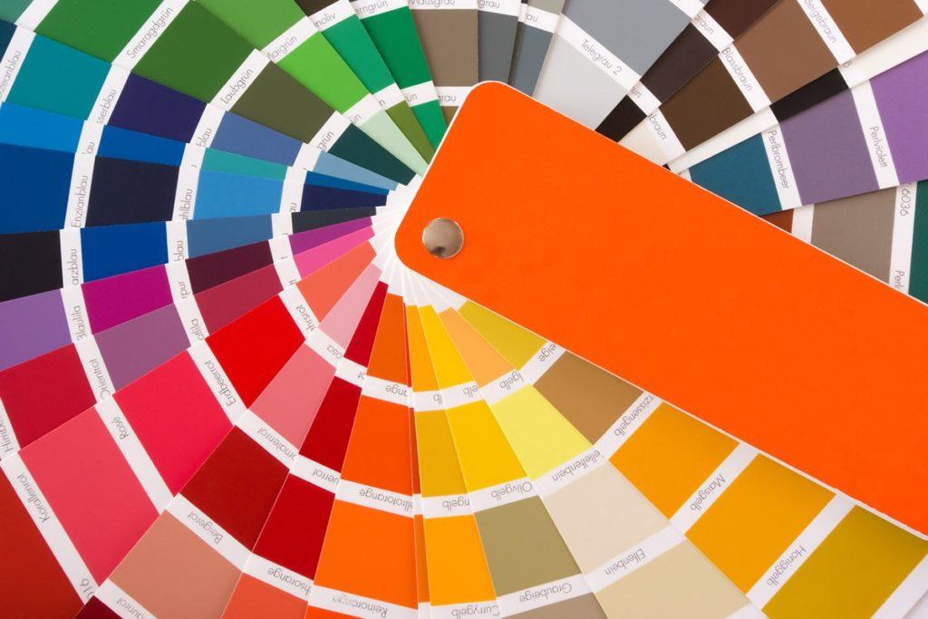 ventaglio colori ral