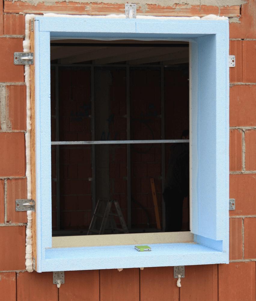 controtelaio in casa in construzione