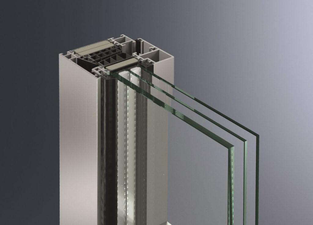 finestra triplo vetro schuco