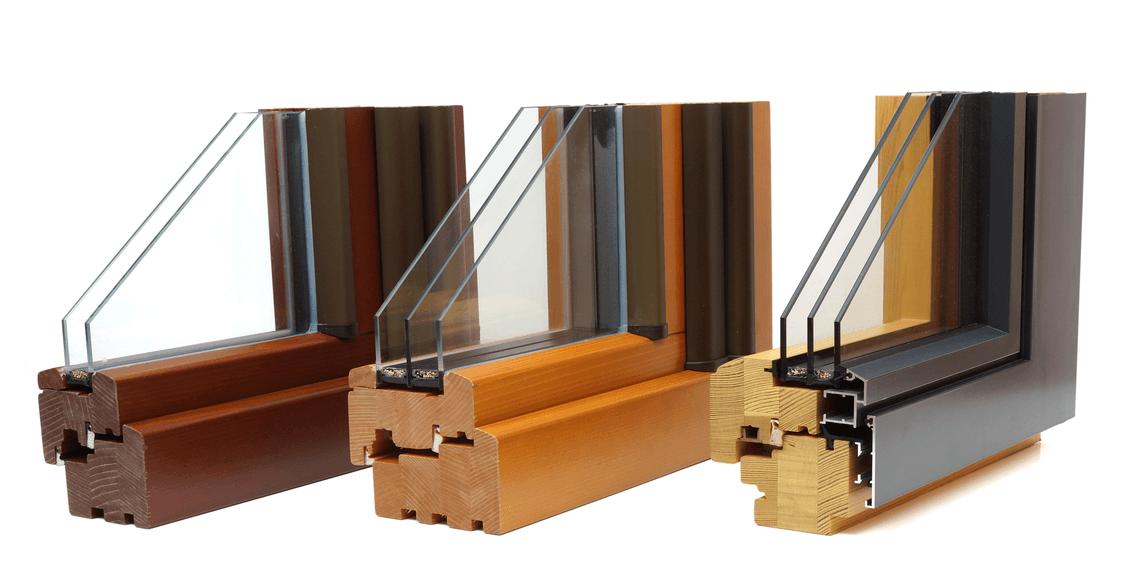 campioni di triplo vetro e doppio vetro