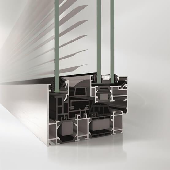 dettaglio con schermatura solare